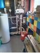 Монтаж обвязка теплогенераторной и подключение коллекторов теплого пола