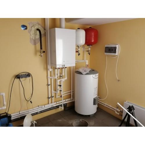 Монтаж системы отопления с автоматикой GSM