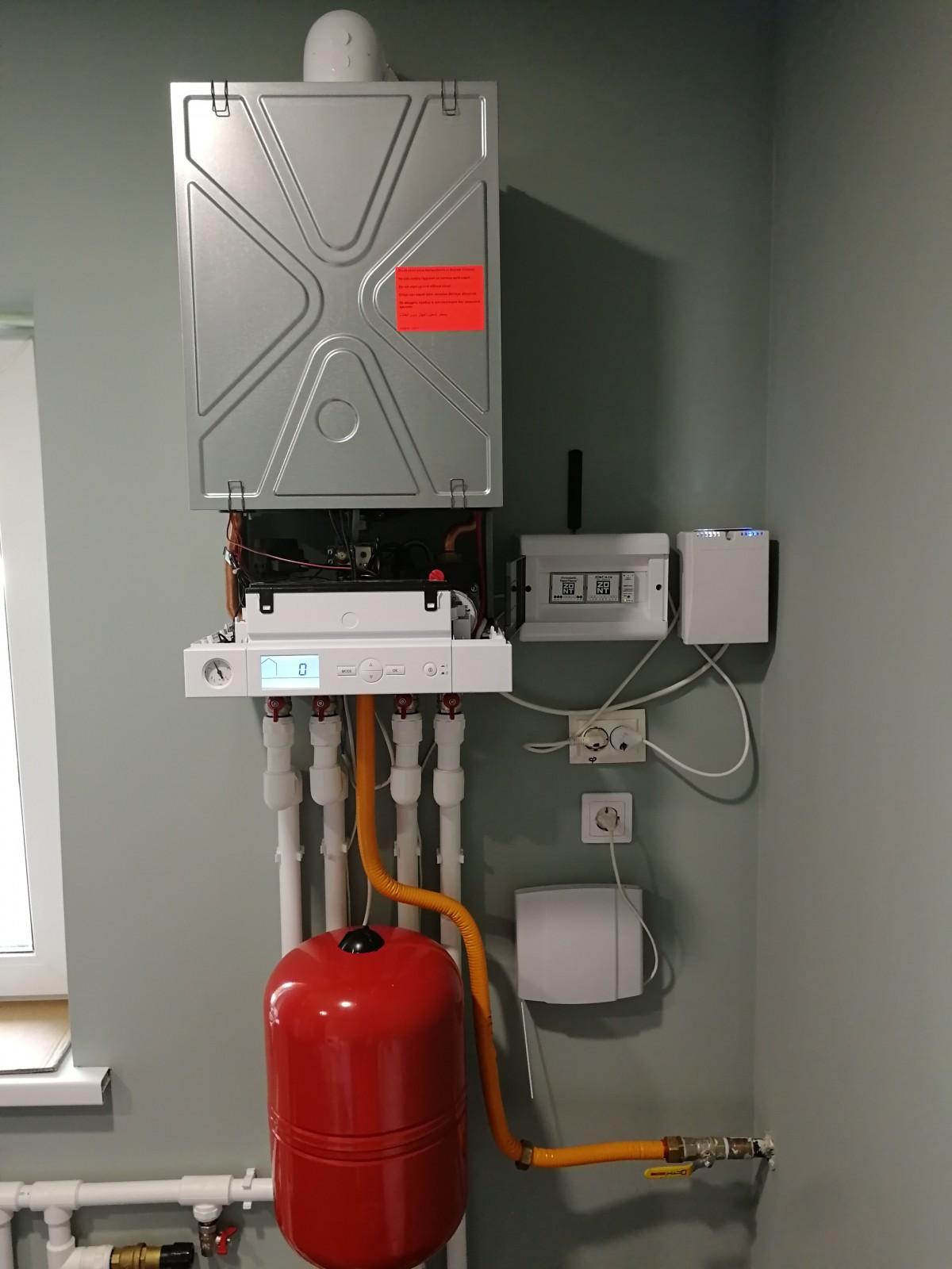 Монтаж системы отопления и водоснабжения  г. Всеволожск