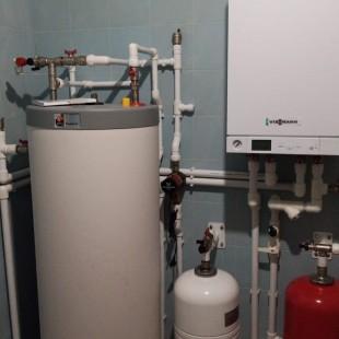 """Монтаж системы отопления, водоснабжения и вентиляции СНТ """"Заозерное"""""""