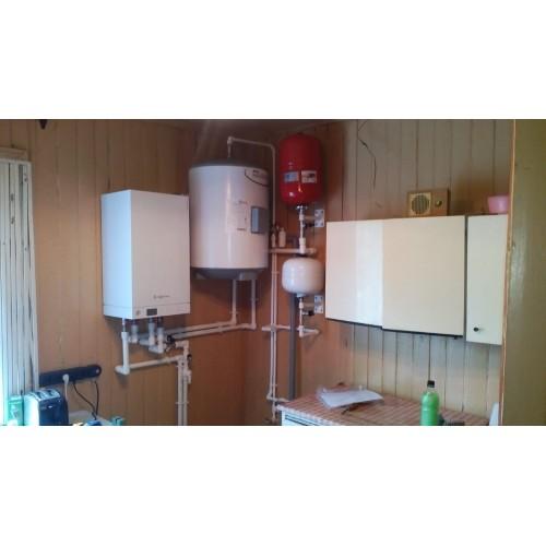 Монтаж системы отопления п. Лисий Нос