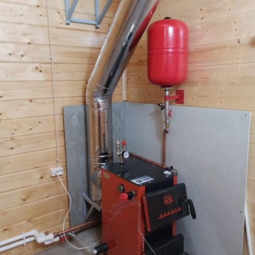 "Монтаж системы отопления, водоснабжения  и канализации, СНТ ""Маяк"""