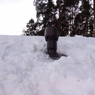 Монтаж  двух вентиляционных каналов с проходкой кровли Vilpe