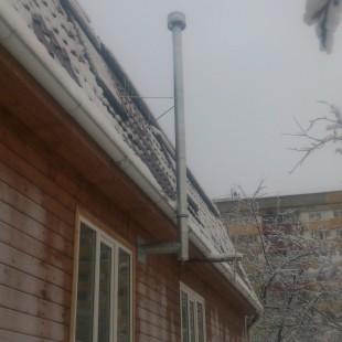 Монтаж вентиляционного канала