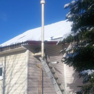 Монтаж дымового вентиляционного канала в Санкт-Петербурге