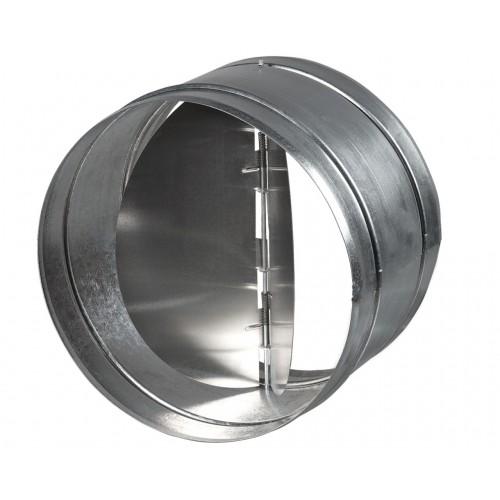 Установка обратного клапана круглого сечения Ø 100-315 мм