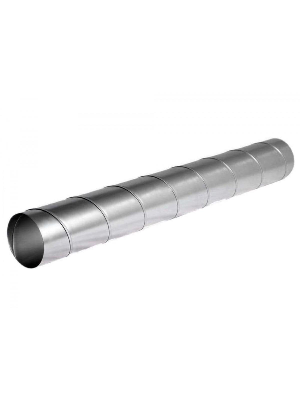 Монтаж воздуховодов оцинкованных круглых диаметром 100 мм