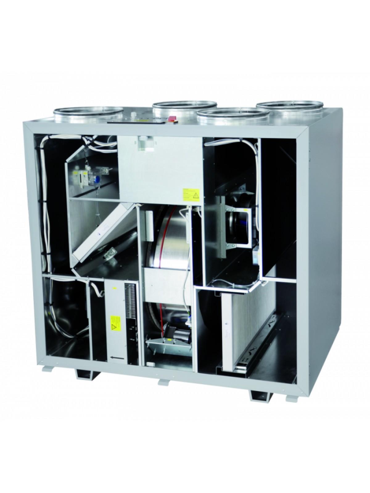 Монтаж приточных установок системы вентиляции производительностью от 1200 до 2000 м3/ч