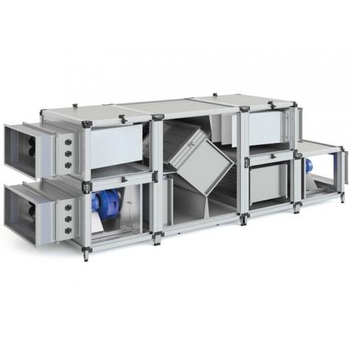 Монтаж приточных установок системы вентиляции производительностью от  2000 м3/ч