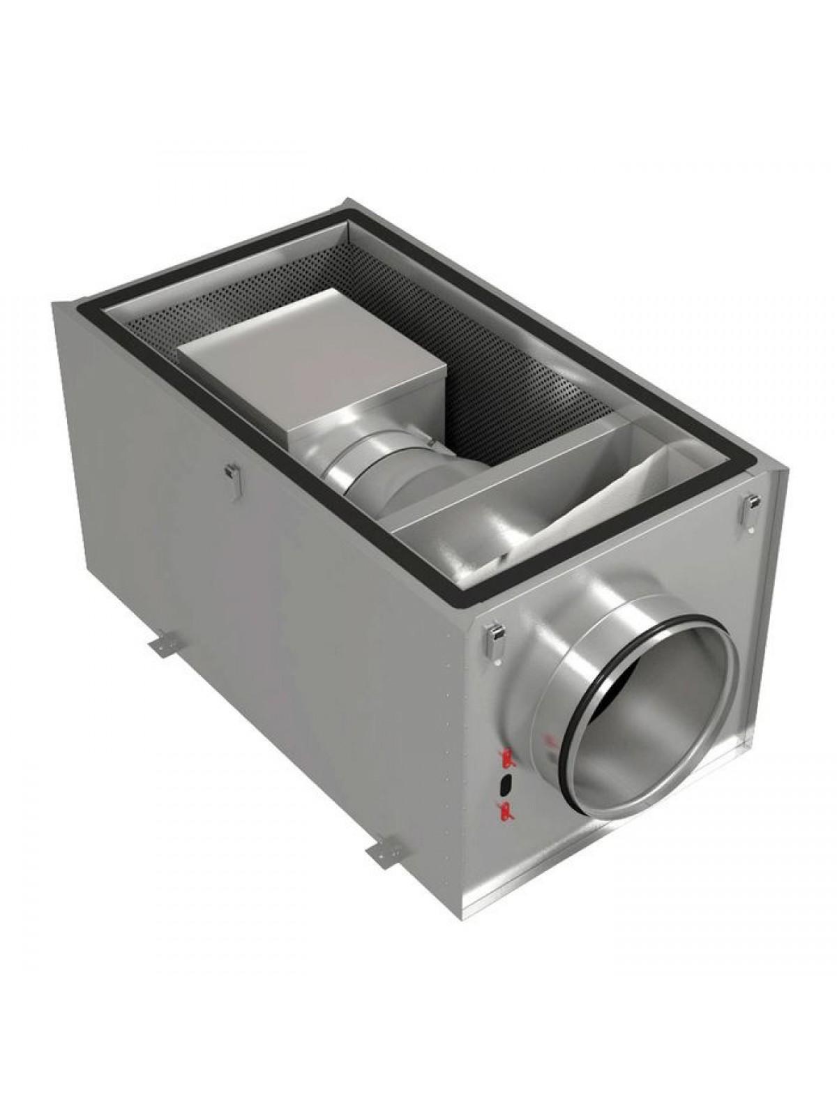 Монтаж приточных установок системы вентиляции производительностью  до 300 м3/ч