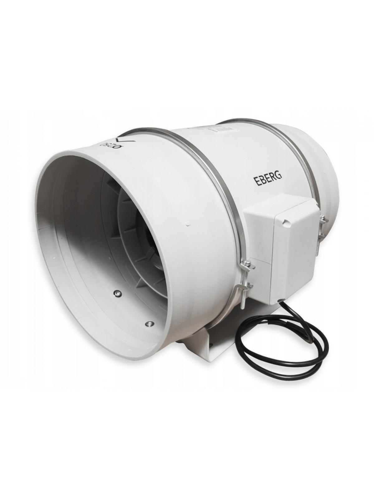 Монтаж канального вентилятора от 1000 до 1700 м3/ч