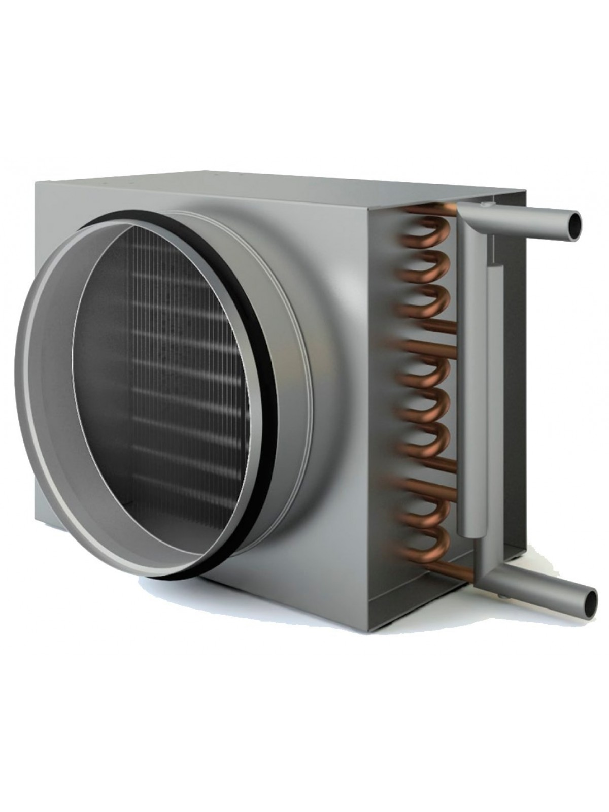Монтаж водяного нагревателя (без обвязки)