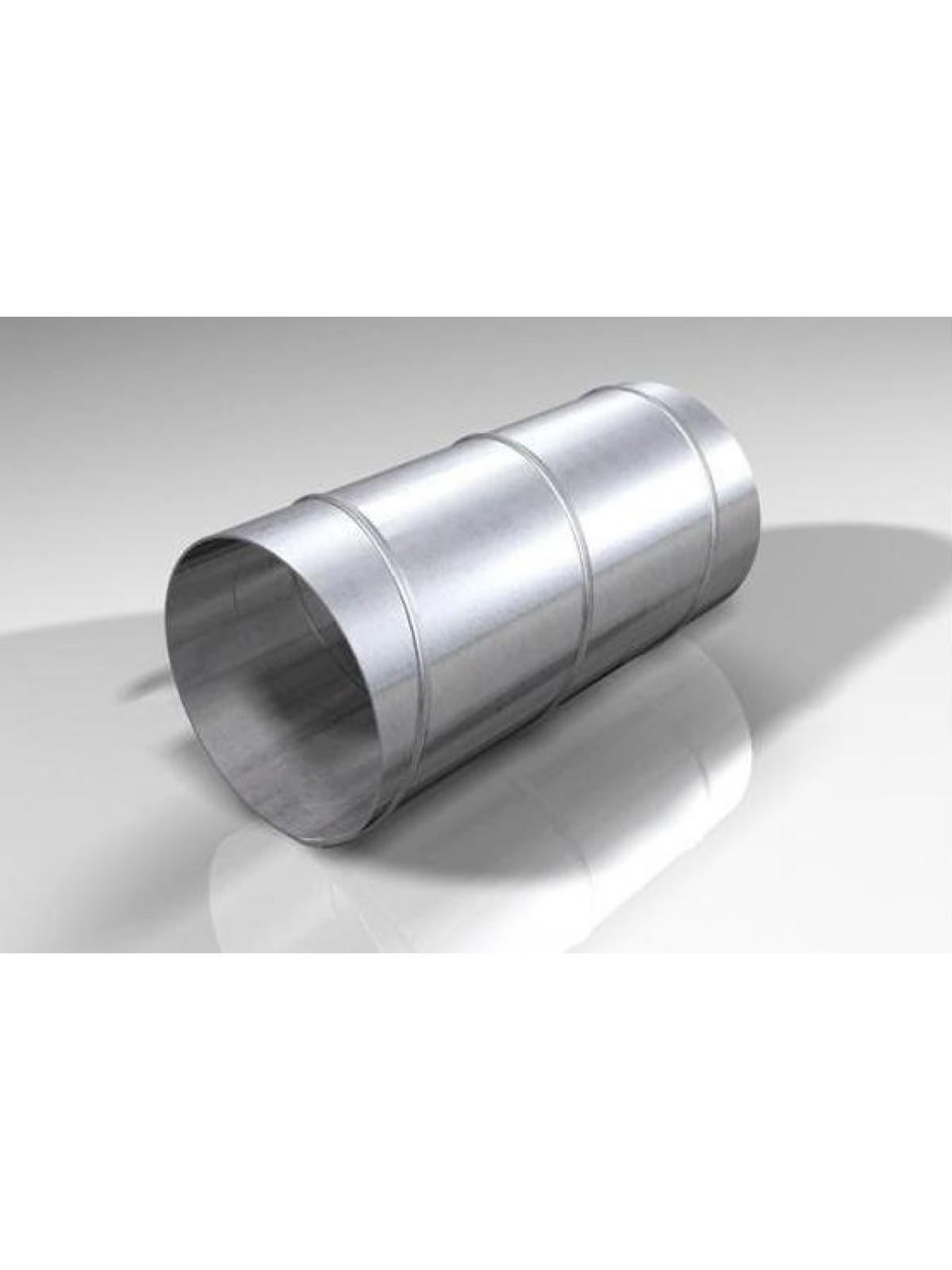 Монтаж воздуховодов оцинкованных круглых диаметром 312 мм