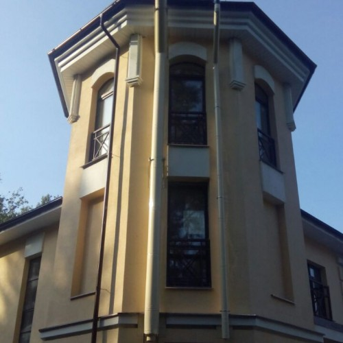 Монтаж приставного дымохода и вентканала
