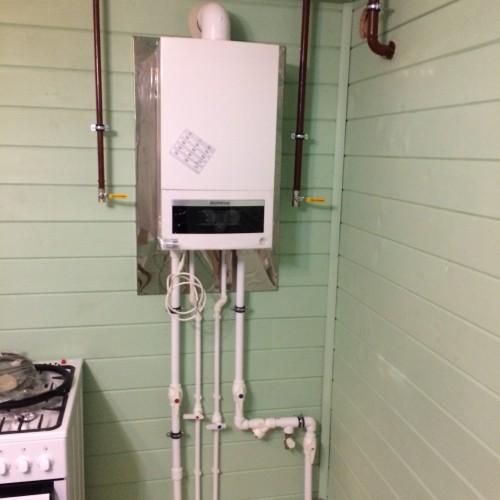 Монтаж системы отопления в частном доме.