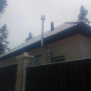 Монтаж естественного вентиляционного канала