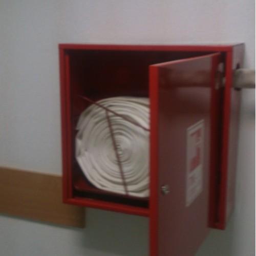 Перекатка пожарных рукавов на новый шов